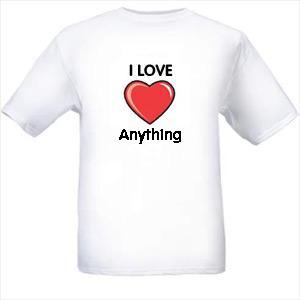 I love anything