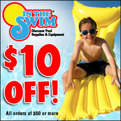 In The Swim - The Widest In Stock Selection of Pool & Spa Supplies in America