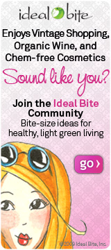 Ideal Bite gives bite-sized ideas for healthy, light green living.