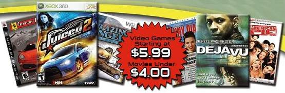 Wholesale DVD Movies & Video Games
