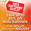 Up to 85% off Kids software