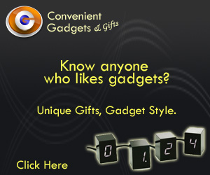 Know anyone who likes gadgets.