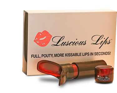 Lip plumpers from Luscious Lips