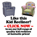 KidStuffInABox -Get the coolest gifts for your kids here - recliners, rockers, puppet theaters, indoor playhouses and kitchen play sets.