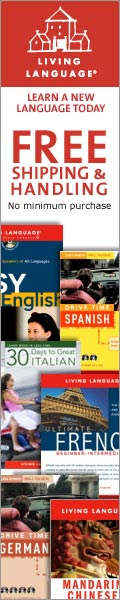 Learn A New Language Today Free Shipping and Handling