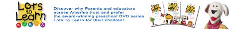 Lots to Learn Preschool DVDs