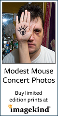 Art prints of Modest Mouse concert photos