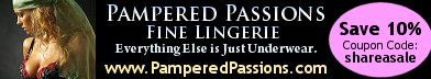 Save 10% Now at Pampered Passions Fine Lingerie