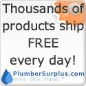 Free Shipping @ PlumberSurplus.com