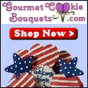 Gourmet Cookie Bouquets - Send Some Patriotic Smiles!