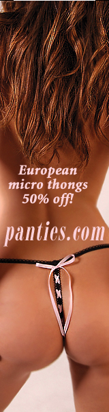 European Micro Thongs 50% off!