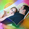 Rainbow Heart Photo Art