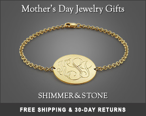 Mother Day 2012 15% OFF + FREE Shipping Deal on from Shimmer & Stone Jewelry