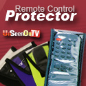 Remote Control Protector - UnSeen on TV!