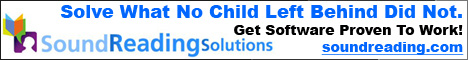 Solve What No Child Left Behind Did Not.  Get Software Proven to Work. SoundReadingSolutions.