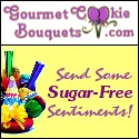 Gourmet Cookie Bouquets - Send Some Sugar-free Sentiments!