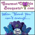 Gourmet Cookie Bouquets - When 'Thank You' isn't enough!