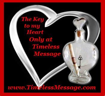 Get your Key to my Heart Message in a Bottle for Christmas Now! Limited Quanties