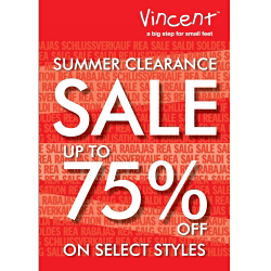 VINCENT Summer Sale