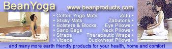 eco yoga mats bean products