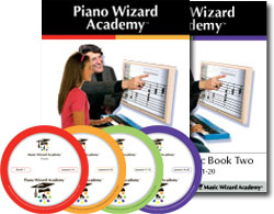 Piano Wizard Academy Family Pack 50