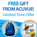 Receive a FREE gift with purchase of Acuvue contact lenses at ACLens.com till 10-31-2008