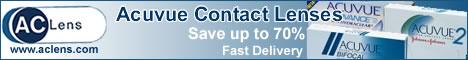 Acuvue conatct lenses