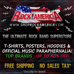 Click for Rock & Roll clothing and memoribilia. We sell the highest quality Music and Rock T-shirts, Hoodies, Music Posters, Hats, Caps, Stickers and Patches.