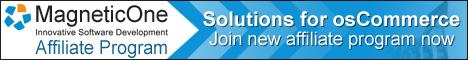 MagneticOne Affiliate Program for osCommerce
