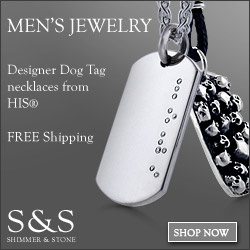 Men's Jewelry at Shimmer & Stone