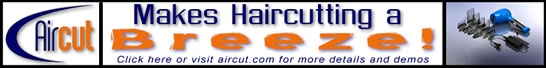 AirCut makes haircutting a breeze! Click here for details!