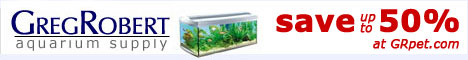 Discount Aquarium Supplies at GregRobert