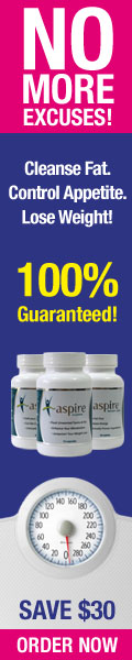 Natural Weight Loss Pills - No harmful chemicals just safe, natural effective weight loss for men & women. Save $30 today with Aspire!* Click Here!