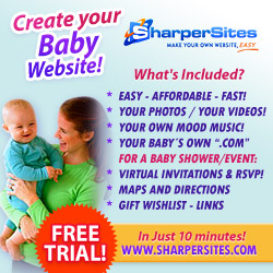 Baby Websites: Make Your Own Baby Website, Easy!