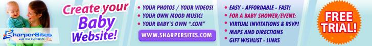 Baby Websites: Make Your Own Baby Website, Easy!