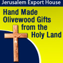 Hand Made Olivewood Gifts fromthe Holy Land