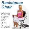 The Resistance Chair - Great Excercise at any age!