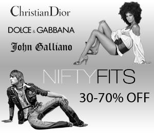 Niftyfits.com - Designer Fashion for Less! Buy Gucci, Prada, Dior & More! 30-70% OFF!