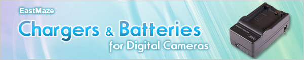Batteries & Chargers for Digital Cameras at EastMaze