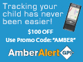 AmberAlert - Know where your child is at all time