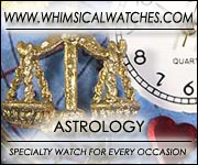 Whimsical Astrology Watches