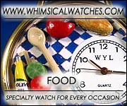 Whimsical Food Watches