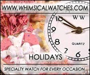 Whimsical Holiday Watches