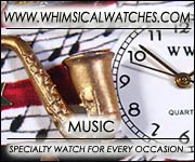 Whimsical Music & Dance Watches