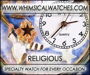 Whimsical Religious Watches