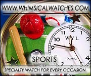 Whimsical Sports Watches