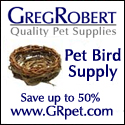 Discount Bird Supplies at GregRobert