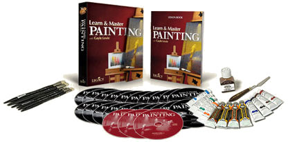 Learn and Master Painting and Supply Kit DVD