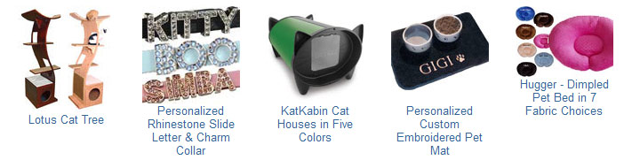 Unique products for your pets at CatsPlay.com