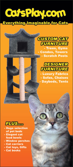 The Web's largest selection of cat furniture at CatsPlay.com